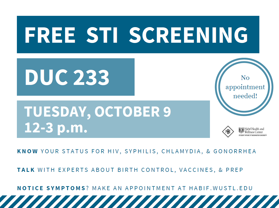 SHS Free STI Screening